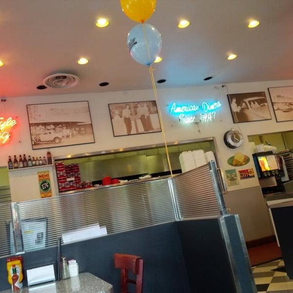 Photo taken at The Original Mel's Diner by Jason C. on 2/8/2014