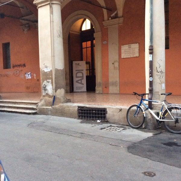 Photo taken at Accademia delle Belle Arti by MadeInItalyfor.me on 1/9/2014