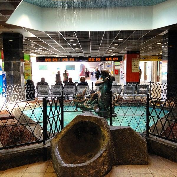 Photo taken at Napoli Centrale Railway Station (INP) by Antonio P. on 3/24/2013
