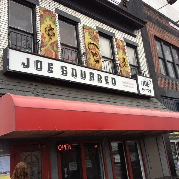 Photo taken at Joe Squared Pizza & Bar by joan b. on 4/28/2013