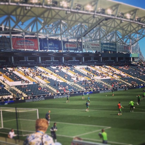 Photo taken at Talen Energy Stadium by Christopher on 5/4/2013