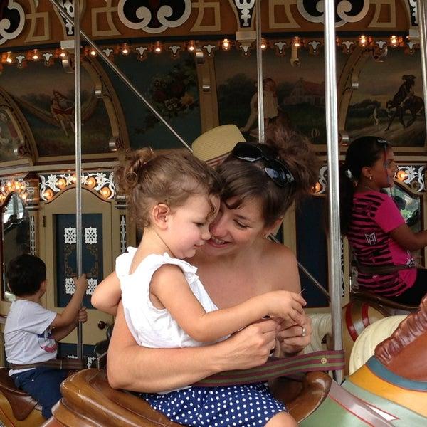 Photo taken at Jane's Carousel by Sindia on 9/1/2013
