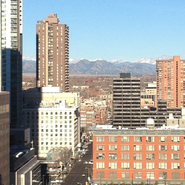 Photo taken at Sheraton Denver Downtown Hotel by Mark M. on 1/6/2013