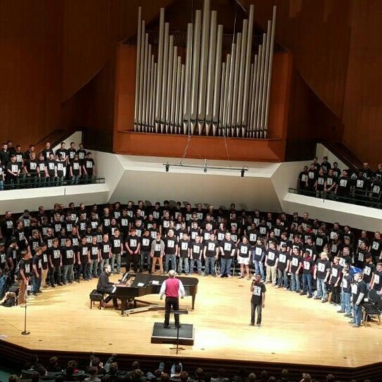 Photo taken at Catlett Music Center by Amanda C. on 11/20/2015