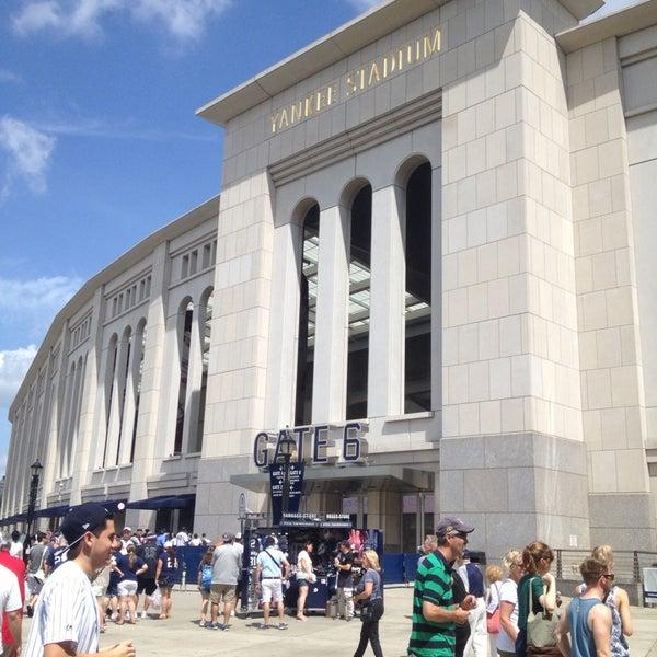 Photo taken at Yankee Stadium by Lina B. on 7/14/2013