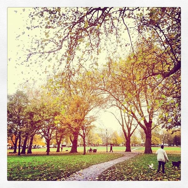 Highbury Fields Park In London