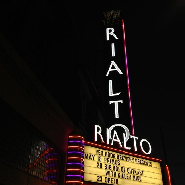 Photo taken at The Rialto Theatre by Jennifer M. on 5/19/2013
