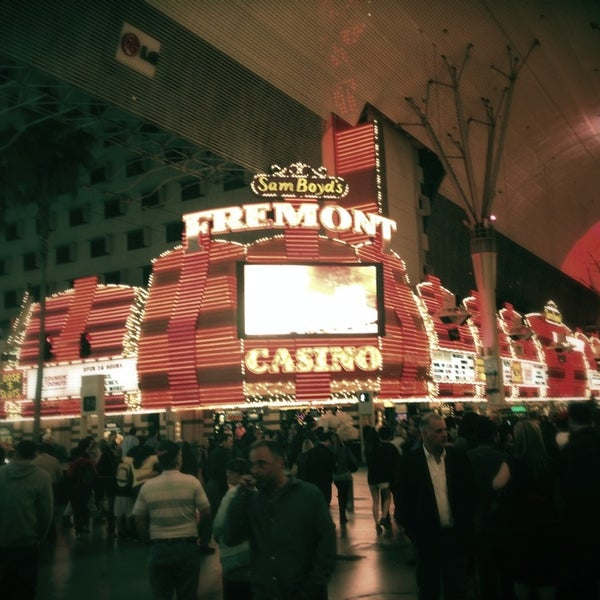Photo taken at Fremont Street Experience by Julia R. on 3/2/2013