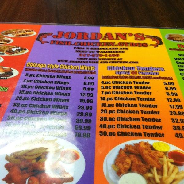 Jordan 39 s fish chicken gyros 5 tips for Jordan s fish and chicken