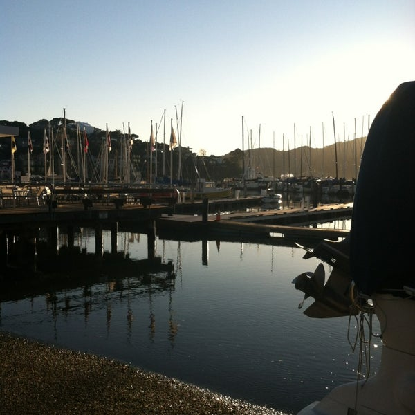 Photo taken at San Francisco Yacht Club by Chandra B. on 2/9/2013