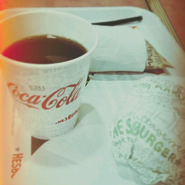 Photo taken at Hesburger by Laura C. on 2/17/2017