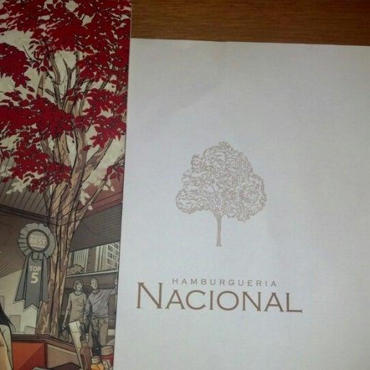 Photo taken at Hamburgueria Nacional by Jorge S. on 12/21/2012