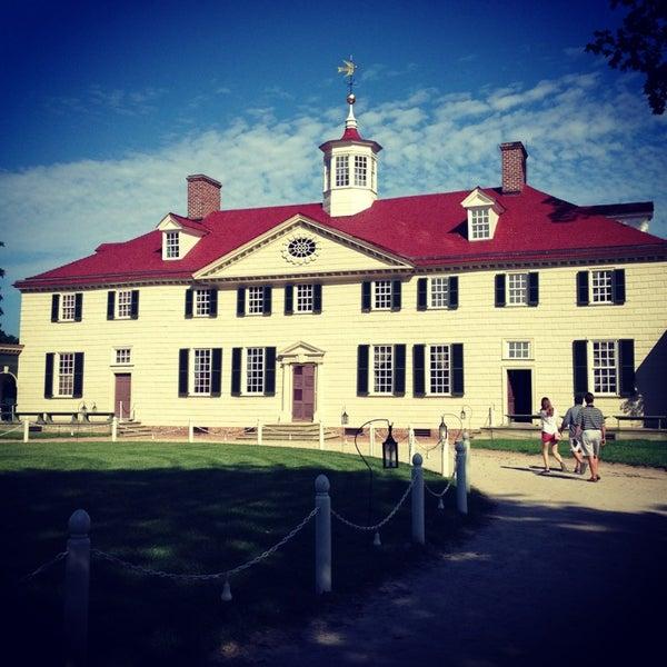 Photo taken at George Washington's Mount Vernon by Jamie W. on 5/28/2013