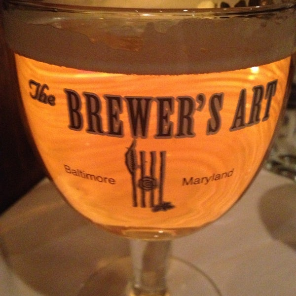 Photo taken at The Brewer's Art by Ela L. on 1/4/2013