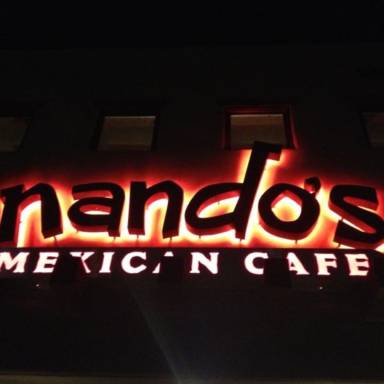 Photo taken at Nando's Mexican Cafe by Michael M. on 10/4/2012