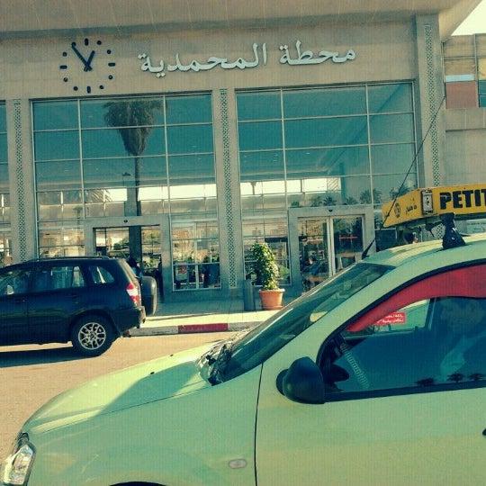 Photo taken at Gare de Mohammédia  محطة المحمدية by Badr A. on 12/2/2012