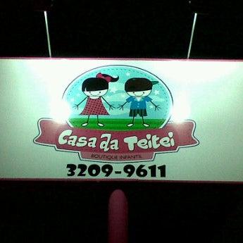 Foto tirada no(a) Casa da Teitei - Boutique Infantil por Ti A. em 12/22/2012