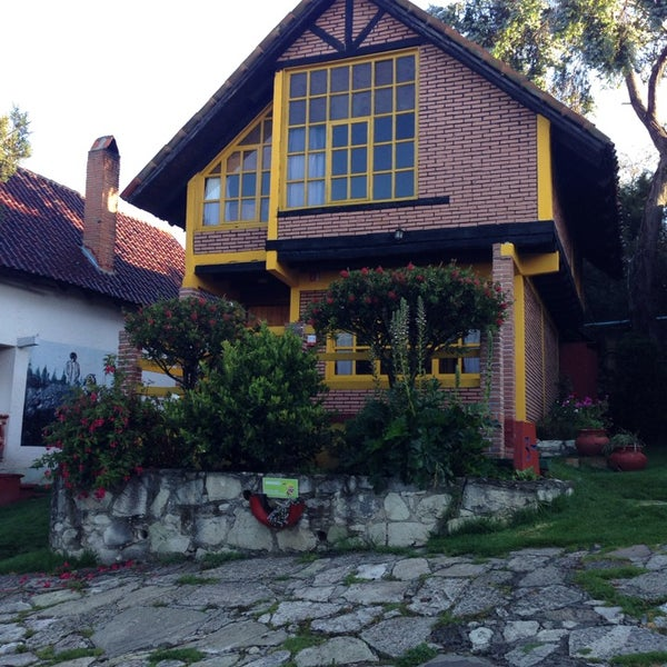 Photo taken at Villa Alpina El Chalet by Becky M. on 10/3/2014