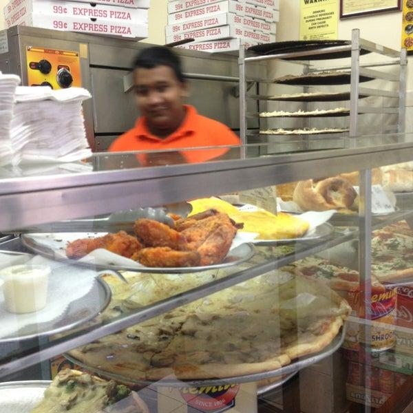 Photo taken at 99¢ Fresh Pizza by Steph V. on 3/10/2013
