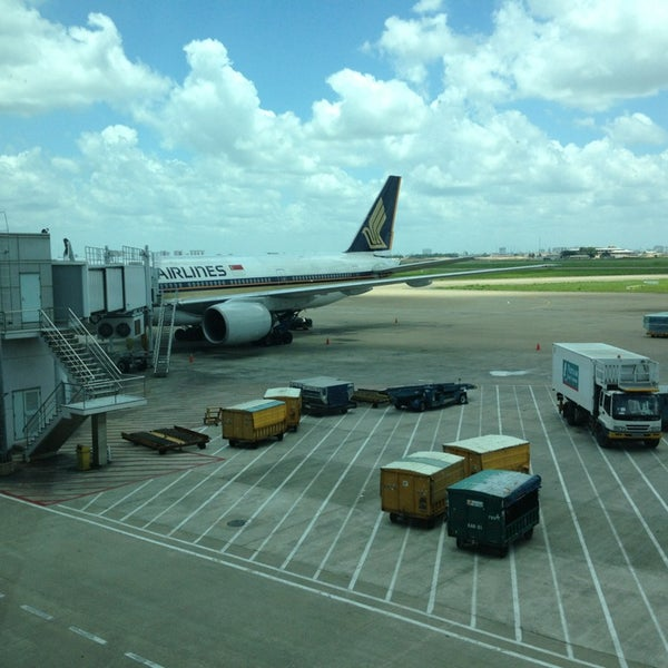 Photo taken at Tan Son Nhat International Airport (SGN) by Cara P. on 8/19/2013