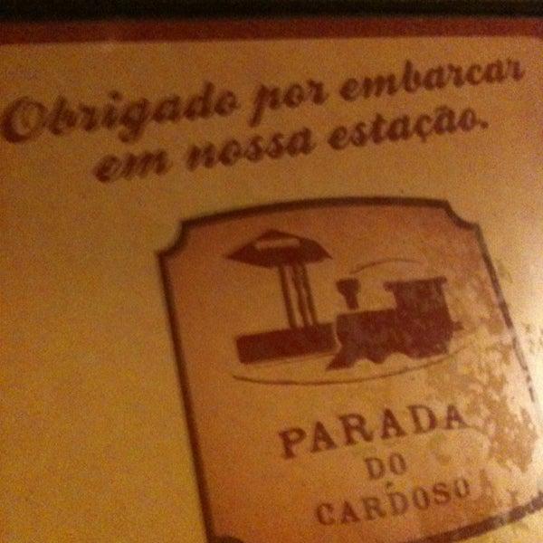 Foto tirada no(a) Parada do Cardoso por Raquel A. em 1/12/2013