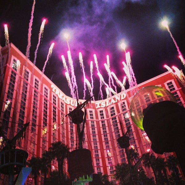 Photo taken at Treasure Island - TI Hotel & Casino by Kim O. on 3/29/2013