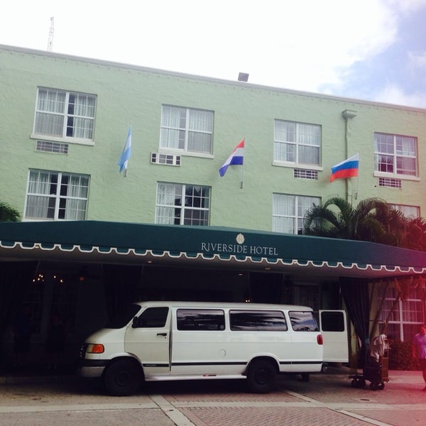 Photo taken at Riverside Hotel by Joanna V. on 3/7/2015