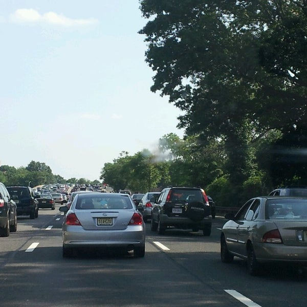 Photo taken at Garden State Parkway -- Saddlebrook by Morgan T. on 6/21/2013