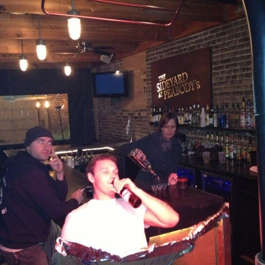Photo taken at Peabody's Ale House by Caley on 10/6/2012