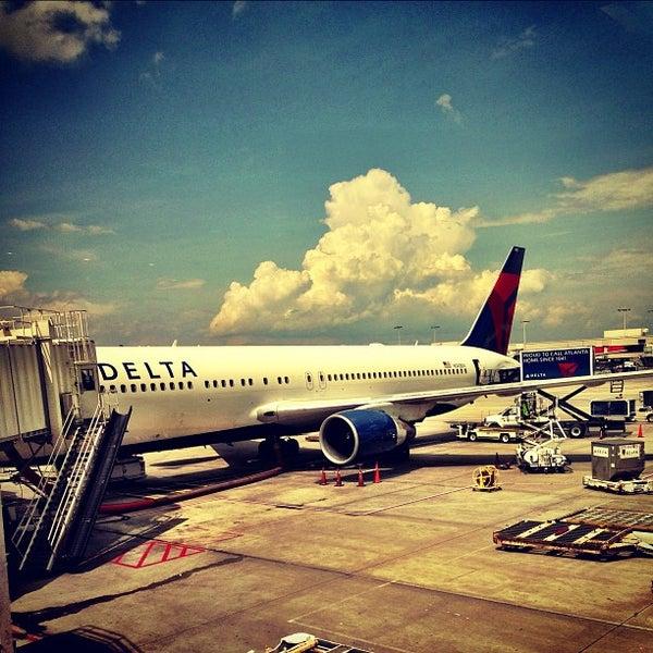 Photo taken at Hartsfield-Jackson Atlanta International Airport (ATL) by Charles S. on 6/18/2013