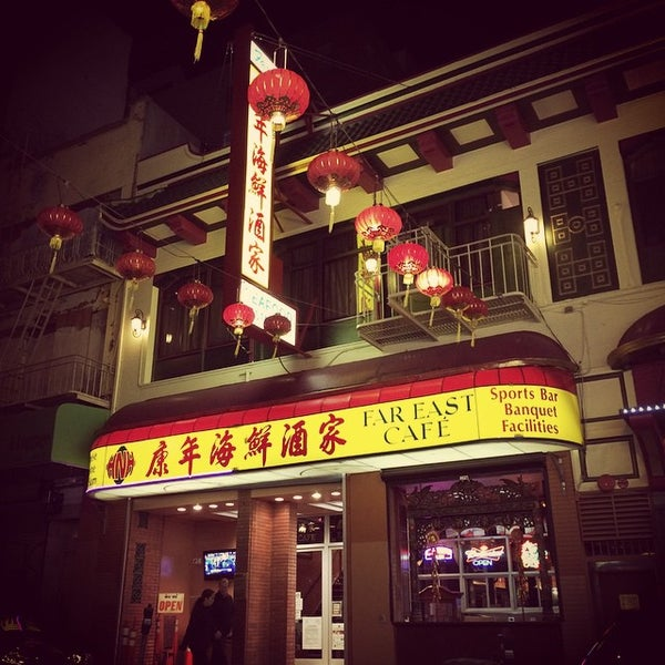 Far east caf chinese restaurant in san francisco for Andys chinese cuisine san francisco