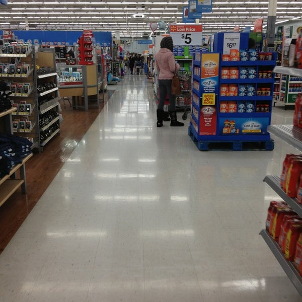 Photo taken at Walmart by Ted I. on 2/1/2013