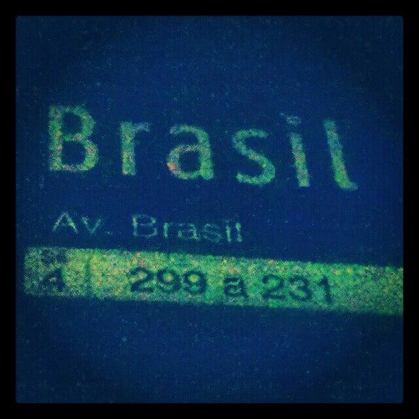 Photo taken at Avenida Brasil by Andréa D. on 10/4/2012