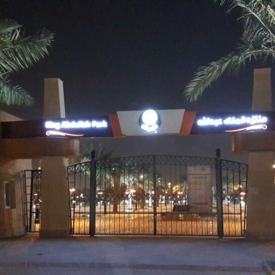Photo taken at King Abdullah Park by Amer M. on 10/23/2013
