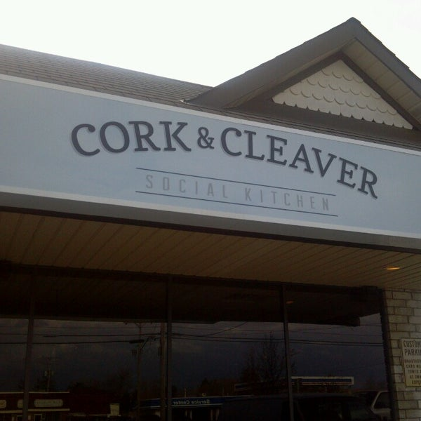 cork cleaver social kitchen now closed new american. Black Bedroom Furniture Sets. Home Design Ideas