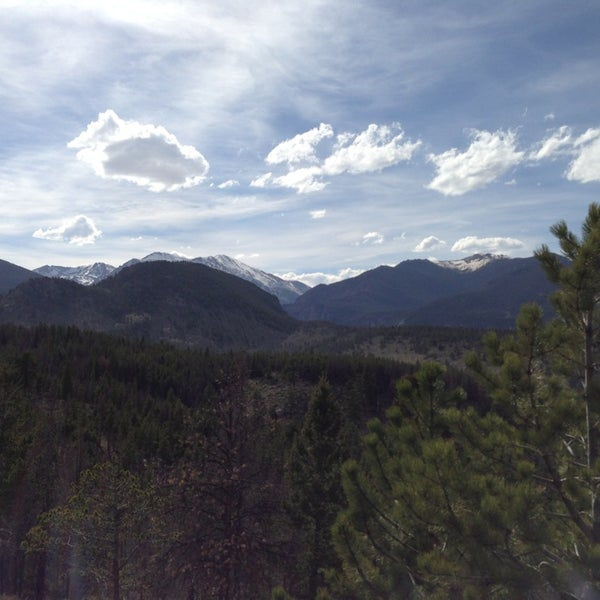 Photo taken at YMCA of the Rockies by Brian R. on 5/25/2013