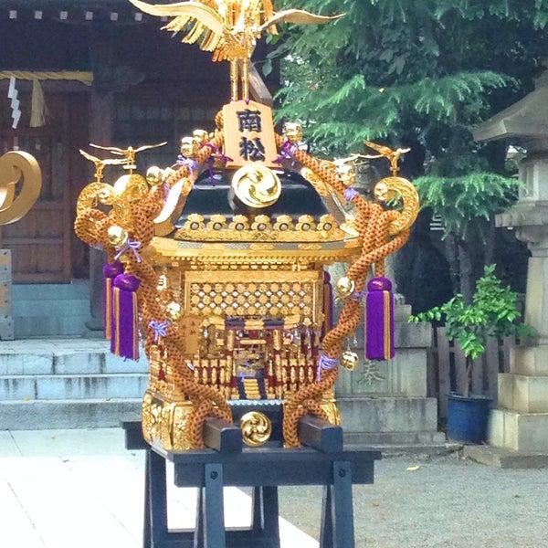 Photo taken at 大塚天祖神社 by Naoyuki I. on 9/4/2016