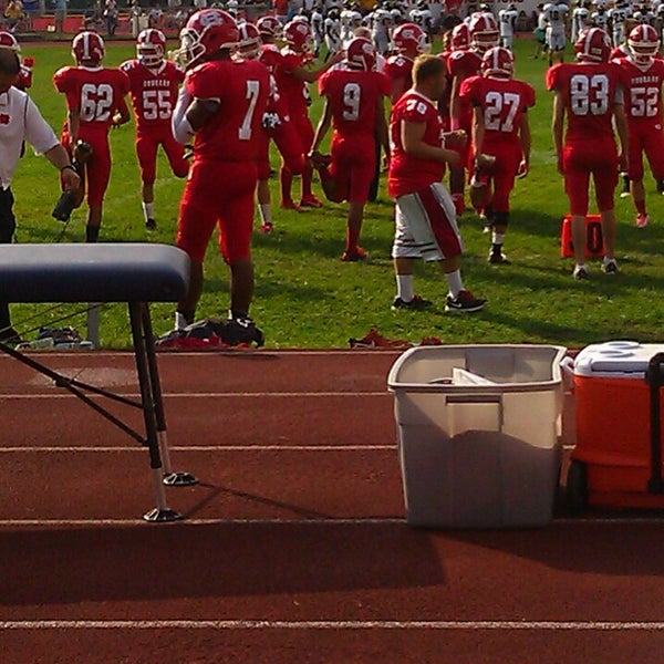 Photo taken at Cherry Hill High School East by Chi La L. on 10/6/2013
