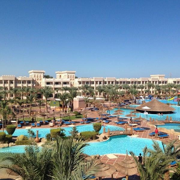 Photo taken at Albatros Palace Resort & Spa by Nadezhda G. on 10/9/2013