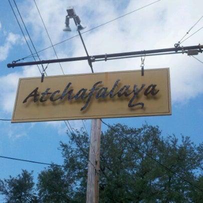 Photo taken at Atchafalaya Restaurant by Jason E. on 10/12/2012