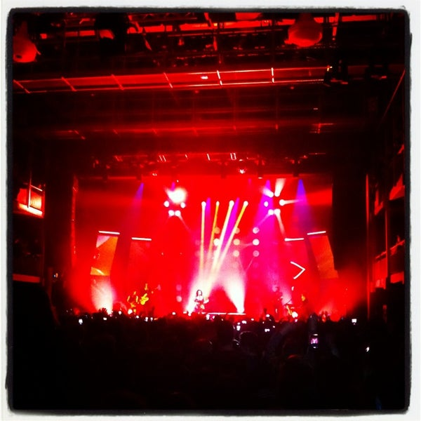 Photo taken at AB Ancienne Belgique by Valerie D. on 3/26/2013
