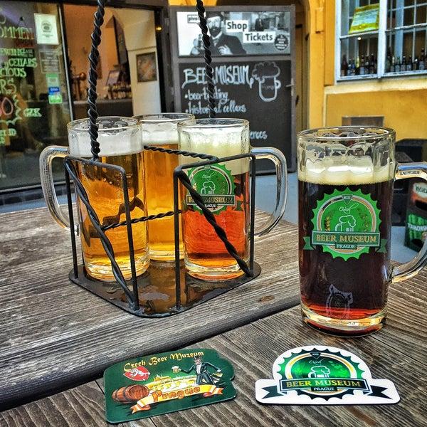 Photo taken at Czech Beer Museum Prague by Kaan Ö. on 8/25/2016