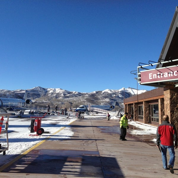 Photo taken at Aspen/Pitkin County Airport (ASE) by Chase S. on 12/20/2012