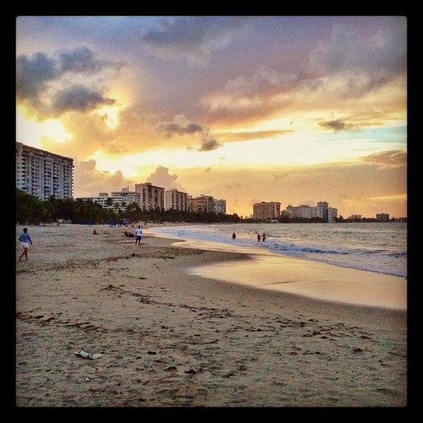 Photo Taken At Isla Verde Beach By Raul C On 10 13 2017