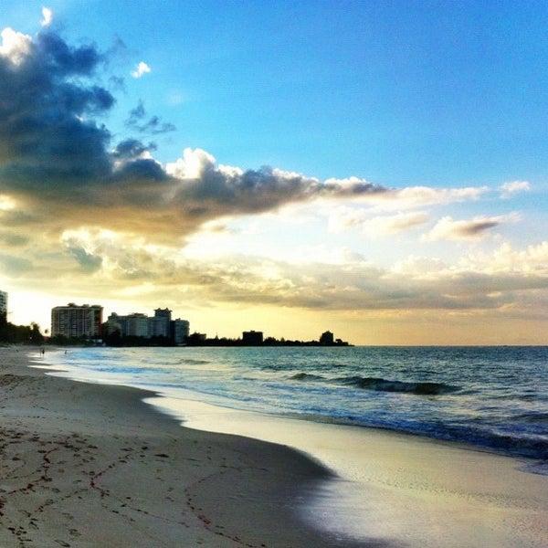 Photo Taken At Isla Verde Beach By Raul C On 9 21 2017