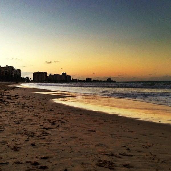 Photo Taken At Isla Verde Beach By Raul C On 2 8 2017