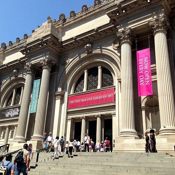 Photo taken at Metropolitan Museum of Art by fr8d G. on 7/18/2013