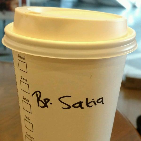Photo taken at Starbucks by Satya W. on 1/14/2017