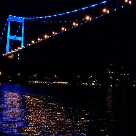 Photo taken at Fatih Sultan Mehmet Bridge by ! ! Muhsin B on 6/22/2013