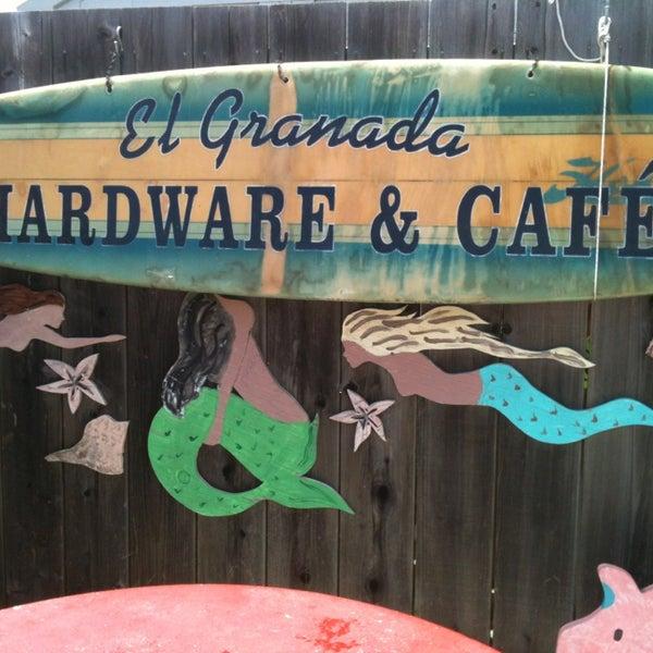 Photo taken at El Granada Hardware & Café by Catherine M. on 5/23/2014
